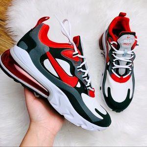 Nike Air Max 270 React Black White Red
